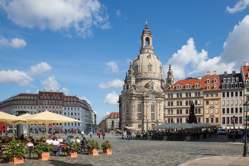 Дрезден Фрауенкирхе