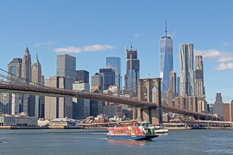 Манхэттен, Бруклинский мост